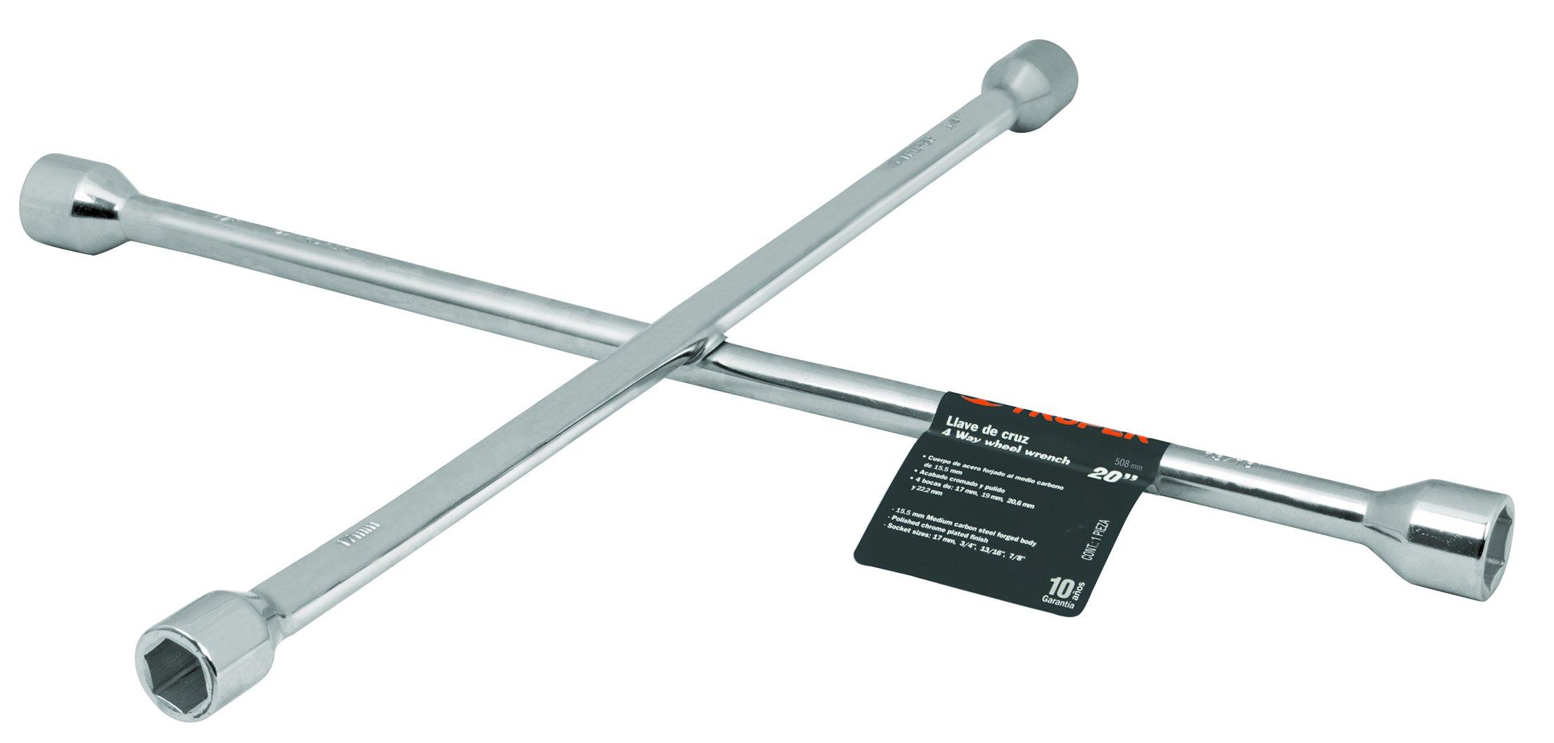 TRUPER LLCR-20 Cross wrench for car, 20'' (508mm)