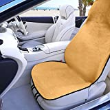 FH Group FH1006BEIGE Water Resistant Quick Dry Car Seat Cover Workouts, Gym, Yoga, Beach Anti-Slip Backing