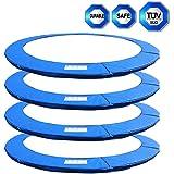 245 - 430 cm Coussin de protection pour trampoline rond de Ø 245cm 305cm 366cm 396cm 430cm 8FT 10FT 12FT 13FT 14FT destiné au remplacement-- Sans FiletMulticolore ( Le filet de sécurité n'est pas inclus )