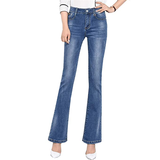 Tallas Grandes Jeans Acampanados Pantalones Vaqueros de ...