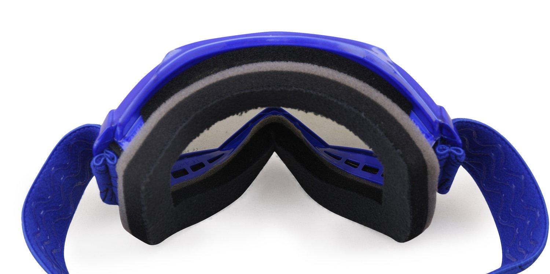 NENKI Gafas Motocross Ni/ño NK-1018 blanco negro