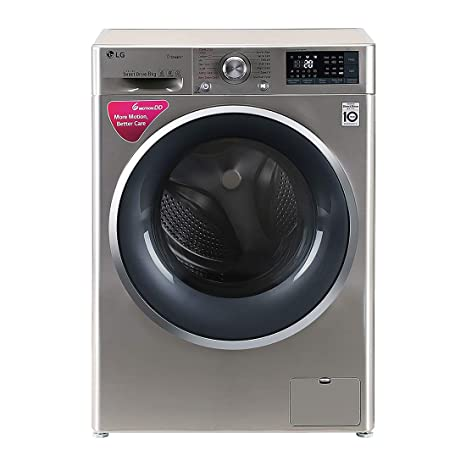 903d159b8 LG 8 kg Inverter Wi-Fi Fully-Automatic Front Loading Washing Machine  (FHT1408SWS