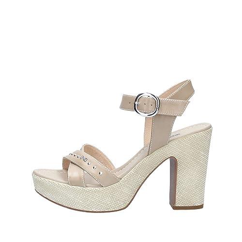 Sandalo NERO GIARDINI P805680D Color Beige