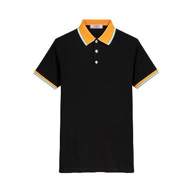 fb25e5343de Richard Nguyen Top Solid Regular Cotton Polo Brand Clothing New Men Polo  Shirt Business Male Short