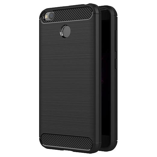 8 opinioni per Cover Xiaomi Redmi 4X, AICEK Nero Custodia Xiaomi Redmi 4X Silicone Molle Black