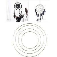 DOITOOL 4 piezas Anillos De Metal Para Atrapasueños