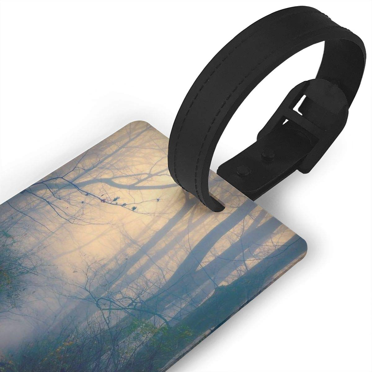 2 Pack Luggage Tags Tree Root Handbag Tag For Suitcase Bag Accessories