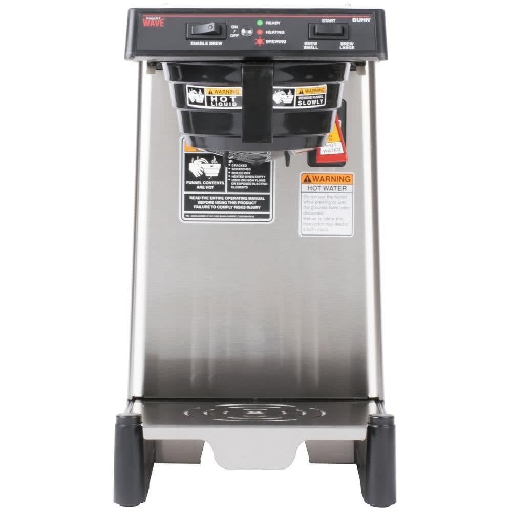 Amazon.com: BUNN-O-Matic 39900.0006 WAVE15-APS SmartWave Low Profile Wide  Base Coffee Brewer, 120 V, Each: Industrial & Scientific
