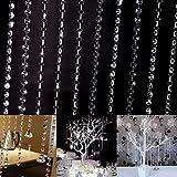Edal 33ft/10M Wedding DIY Decor Living Room Diamond - Best Reviews Guide