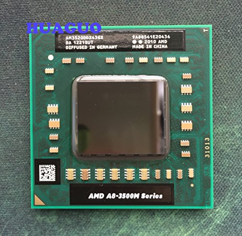 AMD A-Series A8-3520M APU with Radeon HD 6620G Turbo 2.5 GHz Quad-Core 4M L2 Cache AM3520DDX43GX Socket FS1 35W (OEM VER.) CPU ONLY