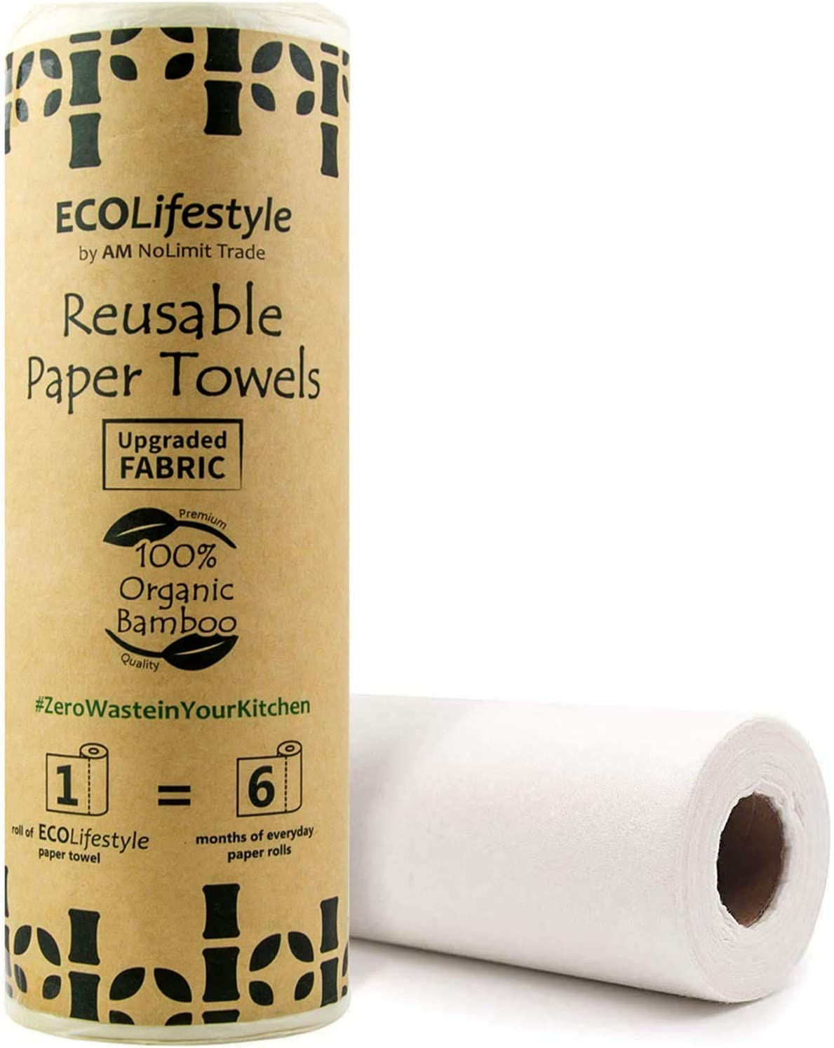 9 Piece Set eco friendly No waste 1 Ply Fabric Paper Towels Holiday Pups