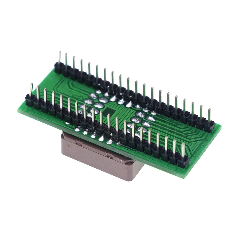 PLCC44 to DIP40 EZ USB Universal Programmer IC Adapter Tester Socket Module for TL866CS TL866A EZP2010 G540 SP300