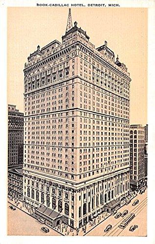 Book Cadillac Hotel Detroit, Michigan postcard
