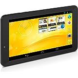 TrekStor SurfTab xiron 7.0 3G (7 Zoll Android Tablet mit Quad-Core-CPU, 3G Unterstützung, 4 GB Speicher und 512 MB RAM) schwarz