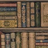 Bookcase Wallpaper Pattern #9x9xgs8ul