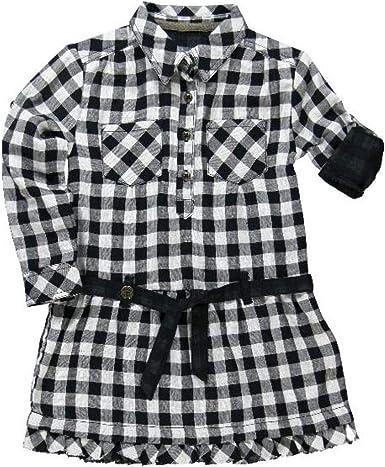 boboli, VESTIDO POPELIN CUADROS - Vestido para bebés, color cuadros blanco quimico/negro, talla 12 años: Amazon.es: Ropa y accesorios