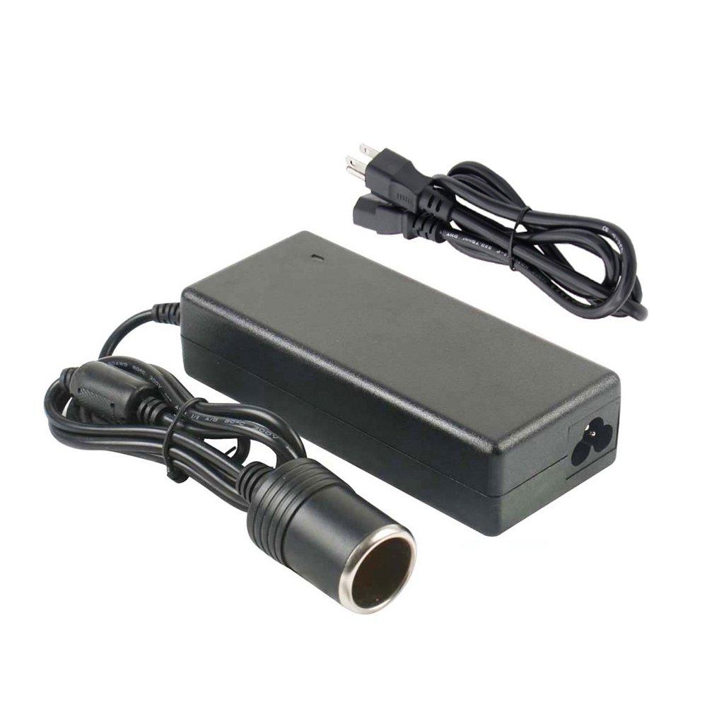 Digit.Tail 12V/10A 120W Power Inverters AC to DC Adapter [110V/110V-240V to 12V] Car Cigarette Lighter Socket Converter for Car Refrigerator/Vacuum /Diffuser/Inflator, Electric Fillet Knife and more