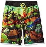 ninja turtles boys bathing suit - Nickelodeon Big Boys' Teenage Mutant Ninja Turtles Swim Trunk, Green, 7