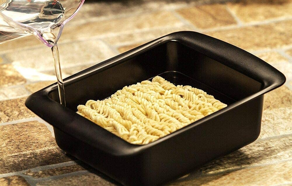 RAPID RAMEN COOKER /• FASTEST EASIER WAY TO COOK NOODLES RAMEN BPA-FREE Compatible With MICROWAVE