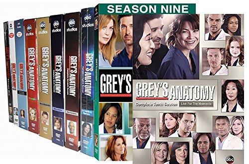 Amazon Greys Anatomy Ten Season Pack Patrick Dempsey Justin