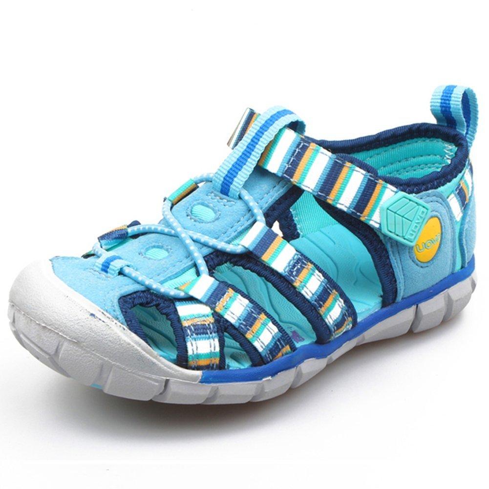 Mandy Romantic Kids Summer Beach Closed-Toe Strap Sandal (Toddler/Little Kid/Big Kid)