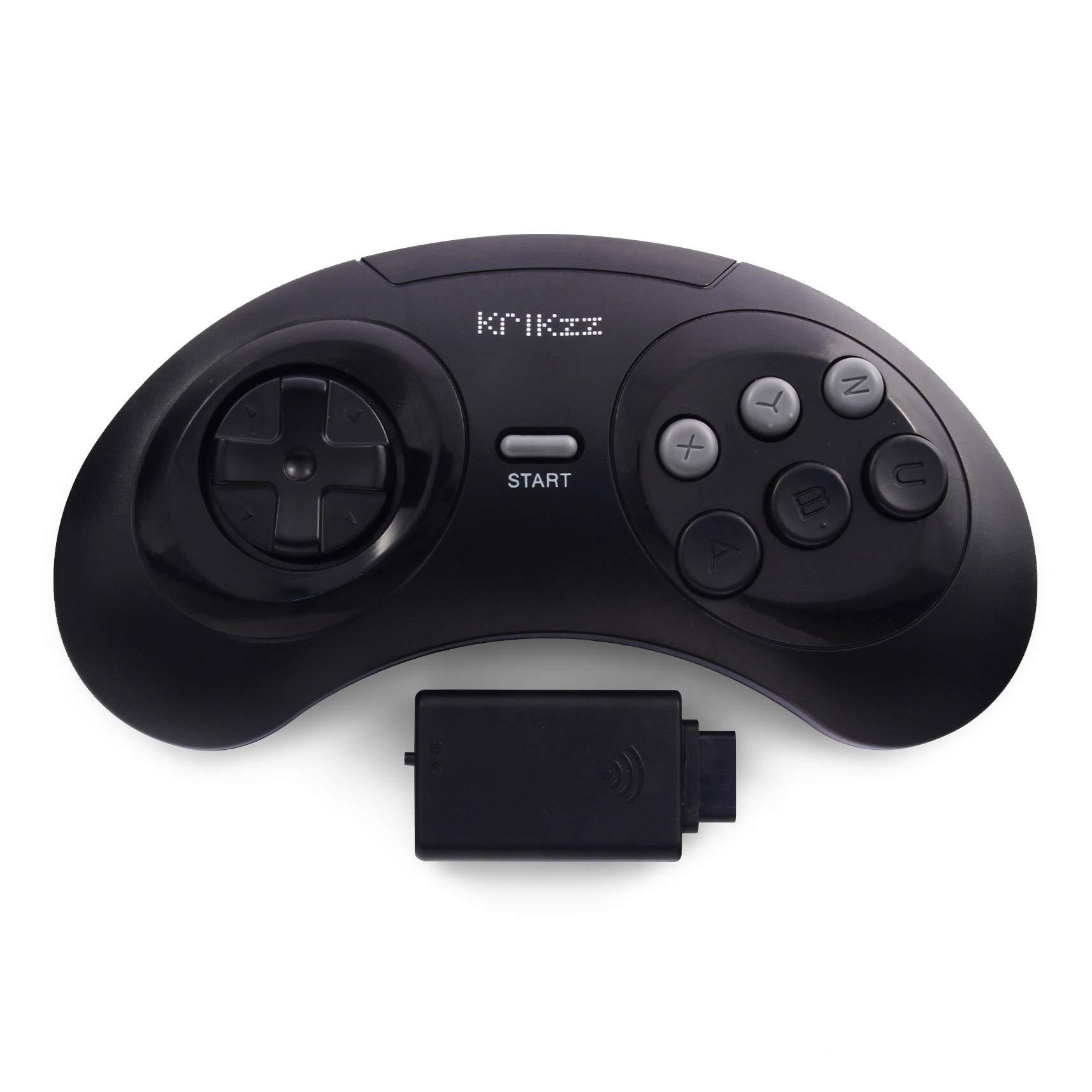 Joyzz Wireless Controller Gamepad for Original SEGA Genesis, Megadrive