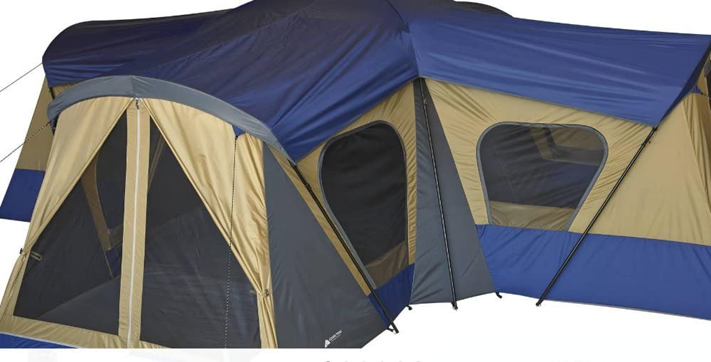 Ozark Trail Base Camp- Tents With Room Dividers
