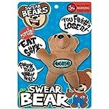 Swear Bear Plush keychain
