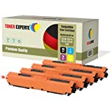 Kit 4 TONER EXPERTE® 126A CE310A CE311A CE312A CE313A Toner compatibili per HP Colour Laserjet CP1025 CP1025nw CP1020 M175a M175nw Pro 100 M175 MFP M175a M175nw M275 TopShot M275