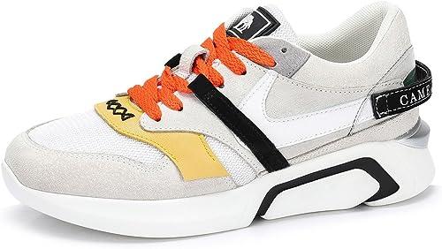 Zapatillas de Deporte para ni/ñas Zapatillas con Velcro Calzado Deportivo para ni/ños al Aire Libre Suela Gruesa Zapatillas de Color Rosa para Caminar Casual