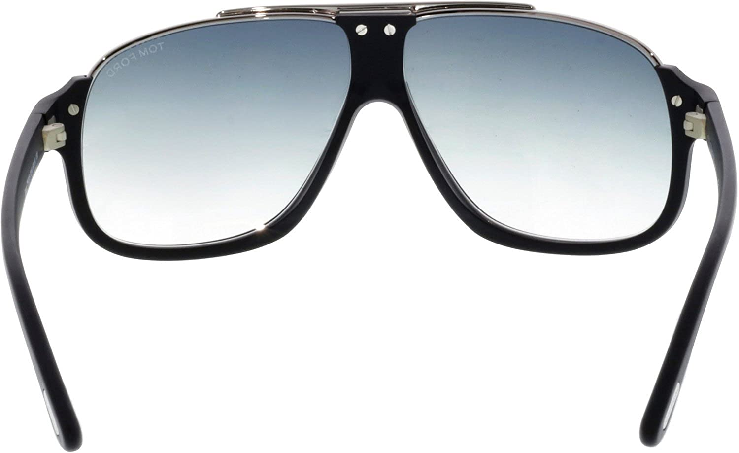 706063d2fe910 Amazon.com  Tom Ford Tf 335 Eliott Matte Black Silver Frame Gray Lens 60Mm  Tom  Ford  Clothing