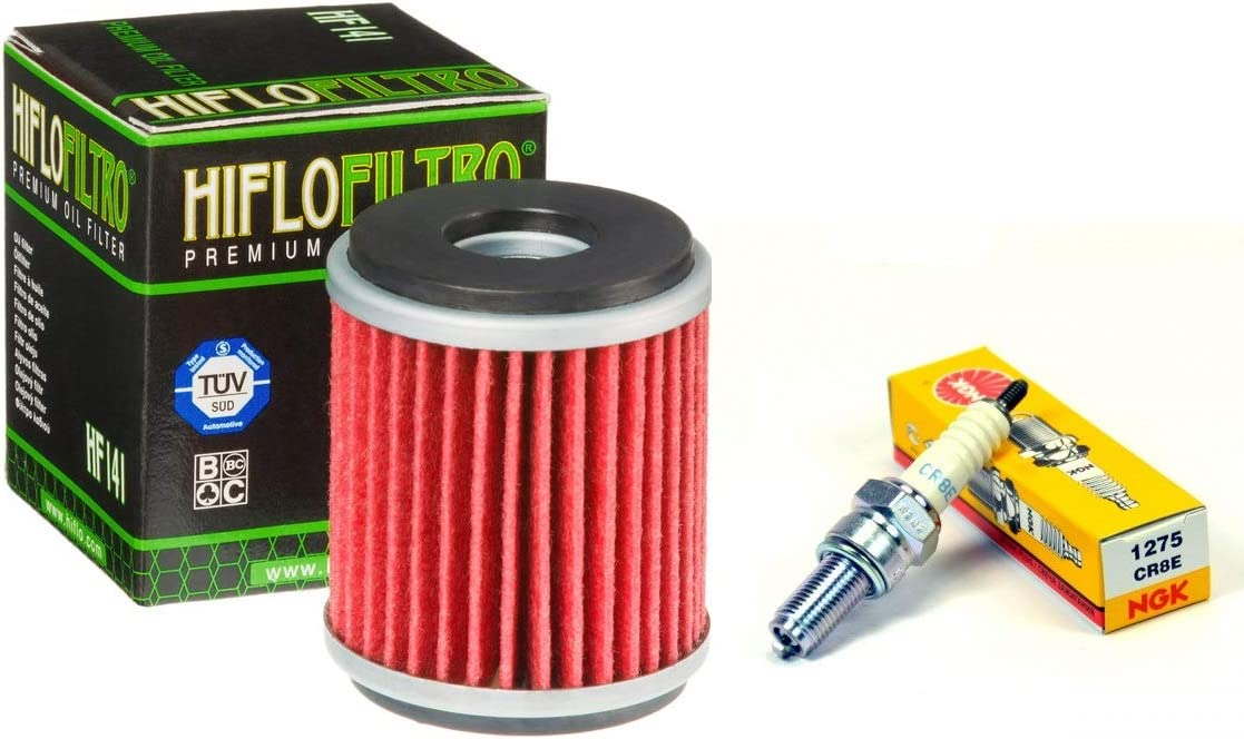 PU OIL FILTER TUNE UP KIT FOR 1987-2018 YAMAHA TW 200 TRAILWAY NGK SPARK PLUG