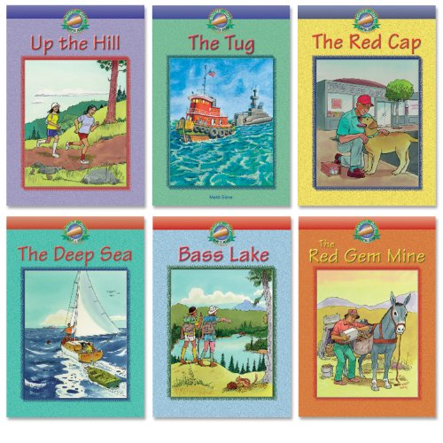 Sound Out Chapter Books: The Deep Sea/Up the Hill/the Red Cap/the Tug/the Red Gem Mine/Bass Lake
