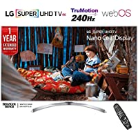 LG 65SJ8000 - 65-inch Super UHD 4K HDR Smart LED TV (2017 Model) + 1 Year Extended Warranty (Certified Refurbished)