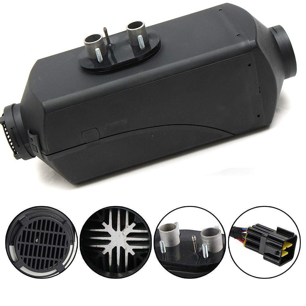 UIFLY Car Diesel Parking Heater Integrated Machine Fuel Air Heater with Remote Control Vehicle Heater For RV Truck 2KW 12V//24V