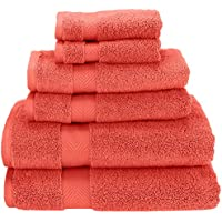 6-Piece Super Soft and Absorbent Towel Set