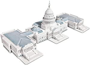 CubicFun 3D Puzzles for the U.S. Capitol Architectures Building Model Kits Toys for Adults and Teens, 132 Pieces