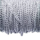 Dcatcher Aluminum Curb Chain Link in Bulk for Necklace Jewelry Accessories DIY Making 11 Yards 4.5mm Width