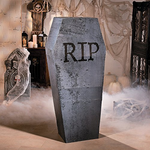 Halloween Coffin Cardboard Stand-Up for $<!--$52.96-->
