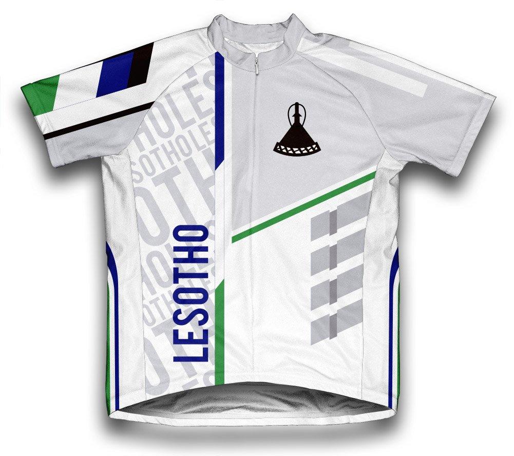 ScudoPro Lesotho Radsport Trikot mit kurzer Ärmel für Frau