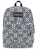 Jansport Superbreak Backpack (super FX white denim emblem)