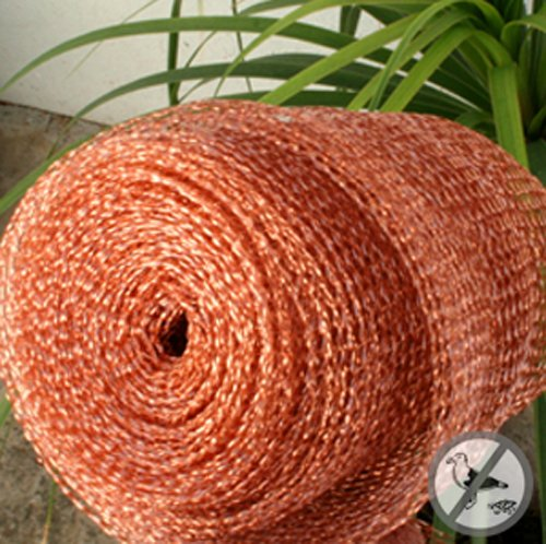 Bird B Gone Copper Mesh 100 ft. Roll for Rodent and Bird Con