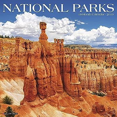 National Month Calendar 2019 National Parks 2019 Wall Calendar: Willow Creek Press