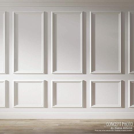 Ekena Millwork Pnl12x24as 01 12 W X 24 H X 1 2 P Ashford Molded Classic Wainscot Wall Panel Home Improvement Amazon Com