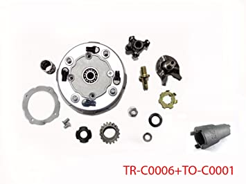 17t Semi-automatic Clutch Assembly For Chinese 50cc 110cc 125cc Engines Pit Dirt Bike Atv Quad Taotao Buyang Kazuma Back To Search Resultshome