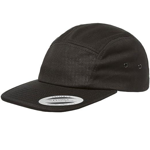 39232cf1a87 Amazon.com  Flexfit   Yupoong 7005 Classic Jockey Cap (Black)  Clothing