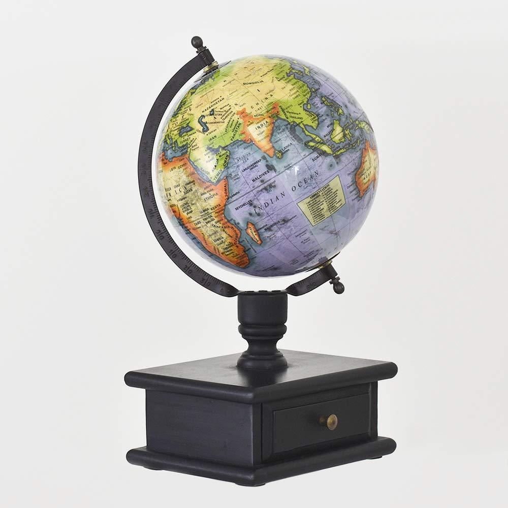 Pastel Country cassetto Globe 20,3cm World Globe, Ufficio Tavolo Globo