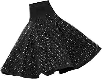 Baoblaze Vestido de Flamenca Ropa de Baile de Mujer Falda de Tango ...