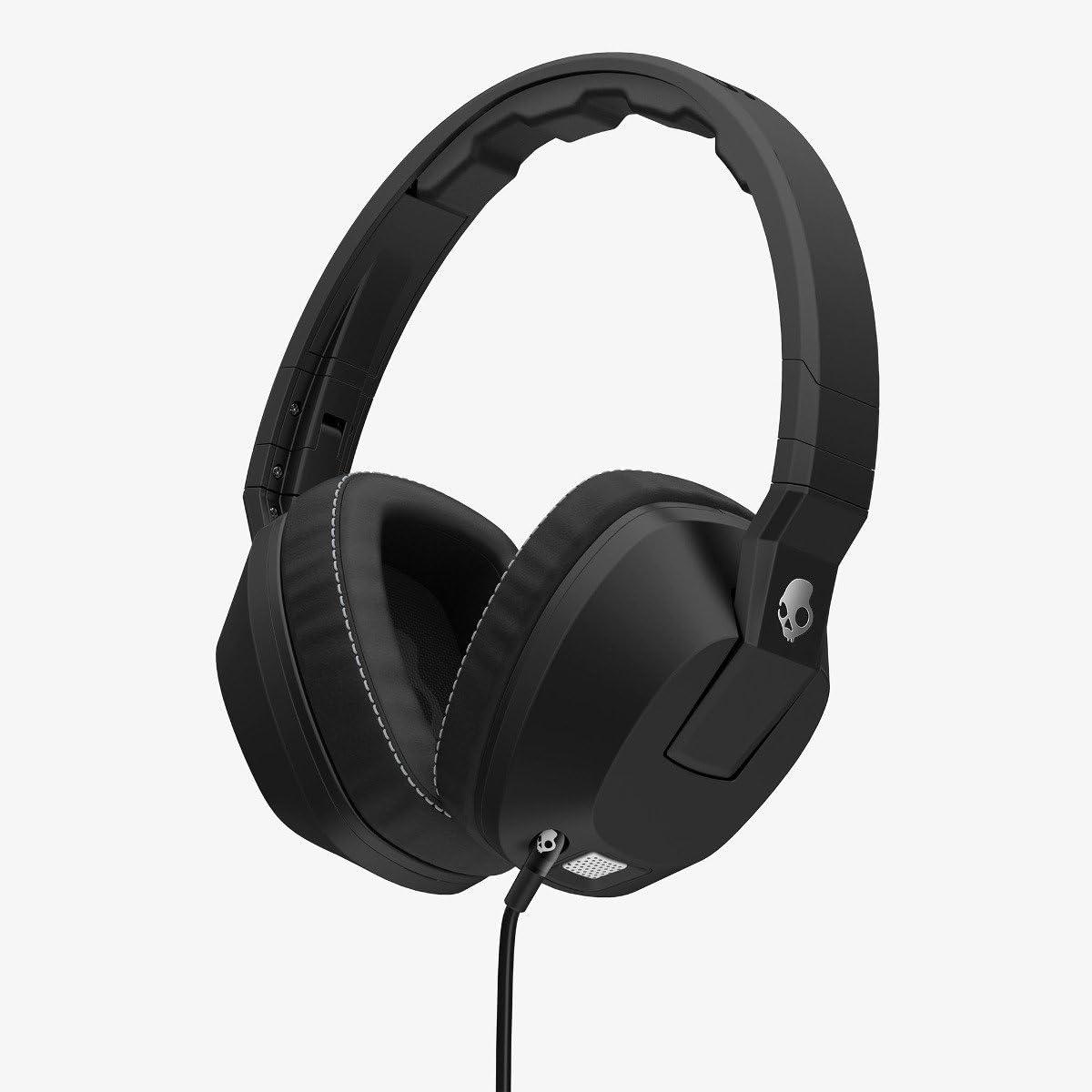 Skullcandy Crusher Headphones with Built-in Amplifier and Mic, Black