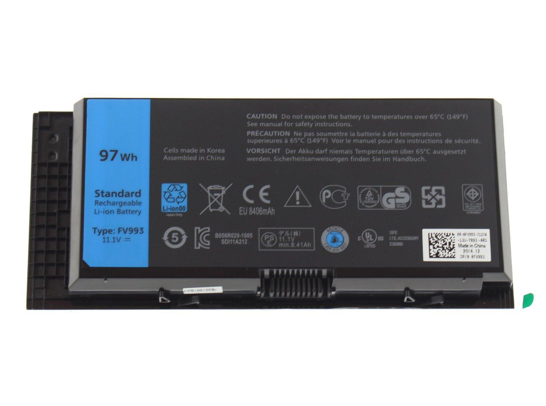 Bateria para Dell FV993 9 celdas 97WH Precision M4600 / M4700 / M4800 / M6600 / M6700 / M6800